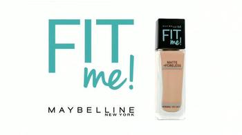 Maybelline New York Fit Me! TV Spot, 'Apariencia natural' [Spanish] - Thumbnail 3