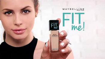 Maybelline New York Fit Me! TV Spot, 'Apariencia natural' [Spanish] - Thumbnail 9