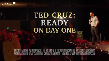 Trusted Leadership PAC TV Spot, 'Ted Cruz: Ready on Day One' - Thumbnail 8