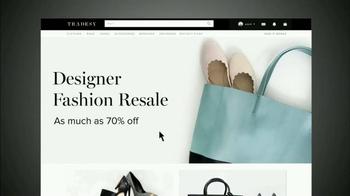 Tradesy.com TV Spot, 'Authentic Fashion' - Thumbnail 1