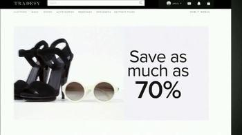 Tradesy.com TV Spot, 'Authentic Fashion' - Thumbnail 3