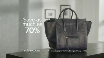 Tradesy.com TV Spot, 'Authentic Fashion' - Thumbnail 6