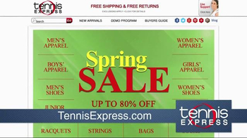 Tennis Express Spring Sale TV Spot, 'Tennis Everything' - Thumbnail 1