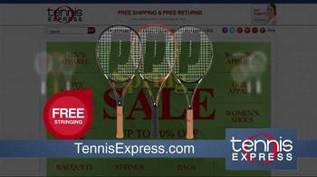 Tennis Express Spring Sale TV Spot, 'Tennis Everything' - Thumbnail 3