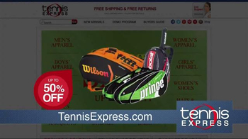 Tennis Express Spring Sale TV Spot, 'Tennis Everything' - Thumbnail 4