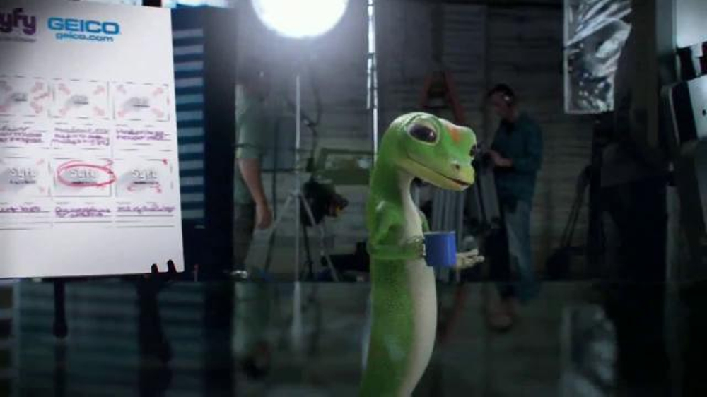 geico tv commercial syfy network directing the logo