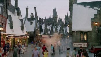 Universal Studios Hollywood TV Spot, 'Syfy Network: Wizarding World' - 43 commercial airings