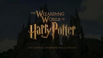 Universal Studios Hollywood TV Spot, 'Syfy Network: Wizarding World' - Thumbnail 4
