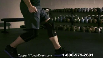 Copper Fit ToughKnees TV Spot, 'Take on the Pain' - Thumbnail 4