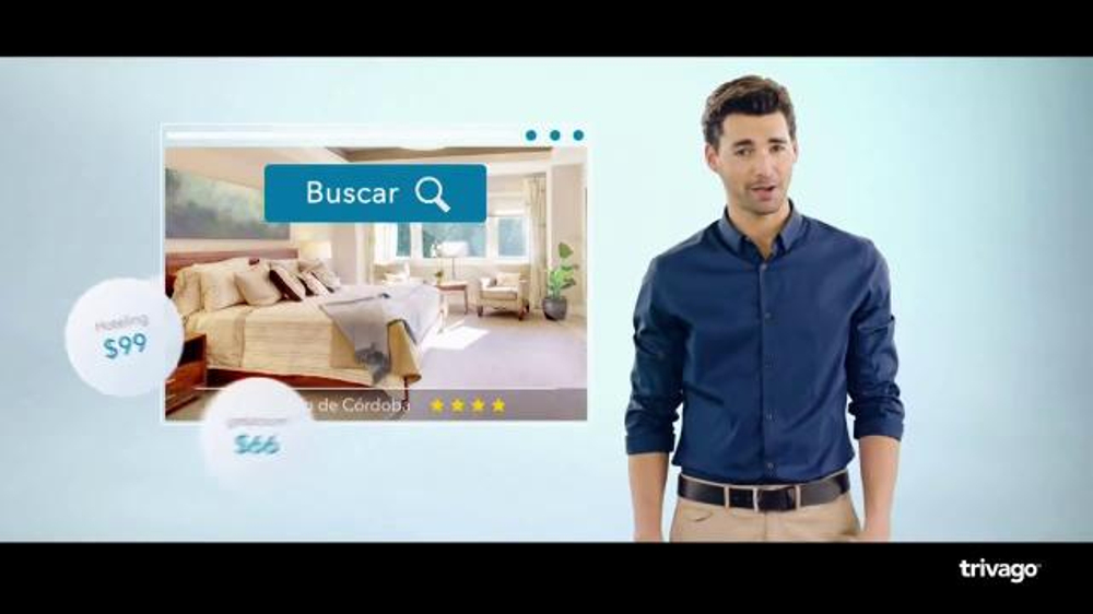 trivago TV Commercial, 'Mr.trivago te ayuda a encontrar tu hotel ideal'