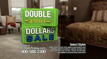 Empire Today Double Your Dollars Sale TV Spot, 'No Limit' - Thumbnail 3