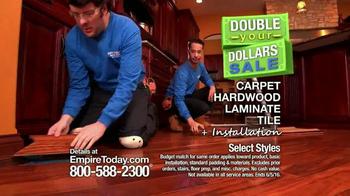 Empire Today Double Your Dollars Sale TV Spot, 'No Limit' - Thumbnail 4