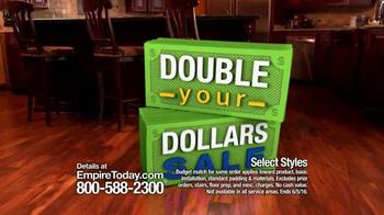 Empire Today Double Your Dollars Sale TV Spot, 'No Limit' - Thumbnail 8