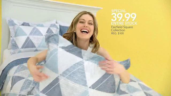 Macy's Spring Home Sale TV Spot, 'April: Bedding and Appliances' - Thumbnail 8
