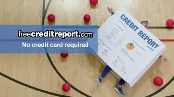 FreeCreditReport.com TV Spot, 'Dodgeball' - Thumbnail 7