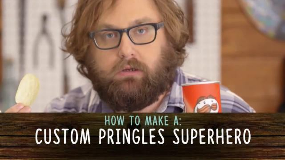 Pringles TV Commercial, 'Comedy Central: Superhero' Featuring Barak Hardley
