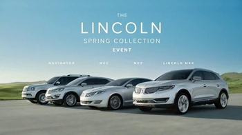 Lincoln Spring Collection Event TV Spot, 'Sound You Can Feel'