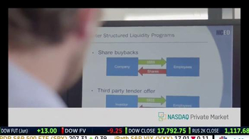 NASDAQ Private Market TV Spot, 'Tools and Solutions' - Thumbnail 3