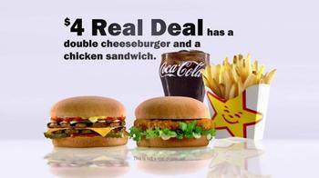 Carl's Jr. $4 Real Deal TV Spot, 'Kids Meal' - Thumbnail 2