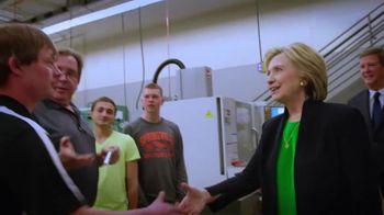 Hillary for America TV Spot, 'Ladders'