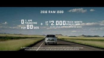 2016 Ram 1500 TV Spot, 'Uncompromising Combination' - Thumbnail 8
