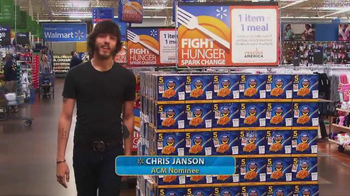 Walmart TV Spot, 'Fight Hunger' Featuring Chris Janson - Thumbnail 1