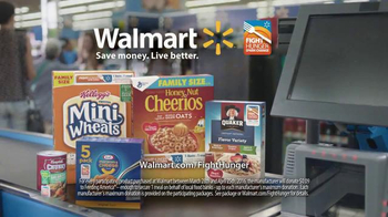 Walmart TV Spot, 'Hunger Is Closer Than You Think' - Thumbnail 9