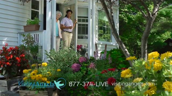 Visiting Angels TV Spot, 'Gardening Angel'