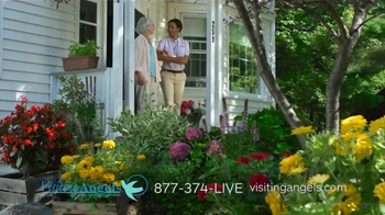 Visiting Angels TV Spot, 'Gardening Angel' - Thumbnail 2