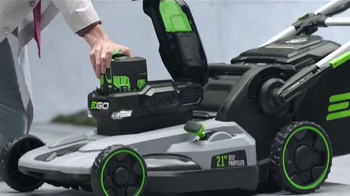 EGO Power + Mower TV Spot, 'Cutting Torque of Gas'
