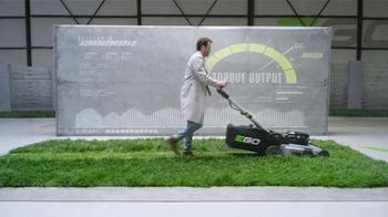EGO Power + Mower TV Spot, 'Cutting Torque of Gas' - Thumbnail 4