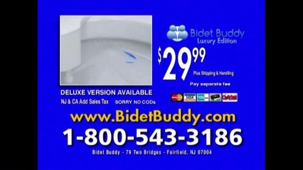 Bidet Buddy Tv Commercial Water Ispot Tv