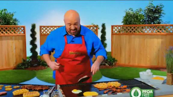 Miracle Grill Mat TV Spot, 'Eliminate Cleanup' Featuring Marc Gill - Thumbnail 3