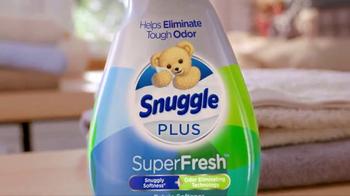 Snuggle Plus SuperFresh TV Spot, 'Release Freshness' - Thumbnail 6