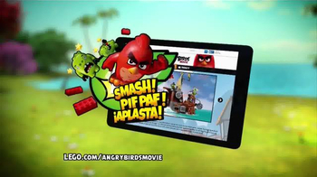 LEGO Angry Birds TV Spot, 'Piggy Pirate Ship' - Thumbnail 4