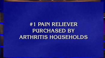 Aleve TV Spot, 'Jeopardy: Arthritis Pain Reliever'