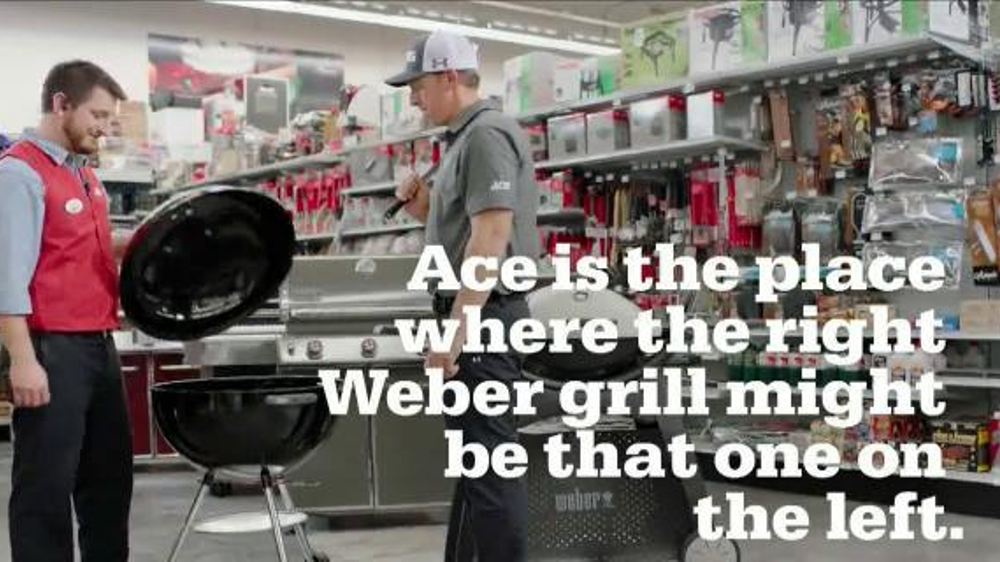 ACE Hardware TV Commercial, 'Grill on the Left' Featuring Hunter Mahan