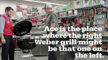 ACE Hardware TV Spot, 'Grill on the Left' Featuring Hunter Mahan - Thumbnail 4