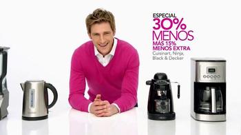 Macy's  TV Spot, 'Electrodomésticos y ropa de cama' [Spanish] - Thumbnail 7