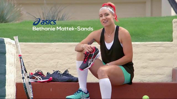 Tennis Warehouse TV Spot, 'I Love My ASICS' Featuring Bethanie Mattek-Sands
