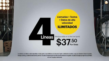 Sprint Truly Unlimited Data TV Spot, 'No tienes que preocuparte' [Spanish] - Thumbnail 4