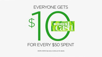 Kohl's Lowest Prices of the Season TV Spot, 'Shoes and Kitchen' - Thumbnail 9