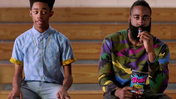 Trolli Sour Brite Crawlers TV Spot, 'Cat-Fro Outshines James Harden' - Thumbnail 1