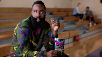 Trolli Sour Brite Crawlers TV Spot, 'Cat-Fro Outshines James Harden' - Thumbnail 2