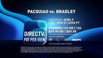 DIRECTV Pay Per View TV Spot, 'Pacquiao vs. Bradley' - Thumbnail 7