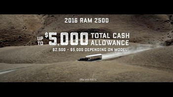 Ram Trucks TV Spot, 'The Best Never Rest' - Thumbnail 9