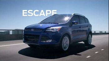 2016 Ford Escape TV Spot, 'Unstoppable' - 314 commercial airings