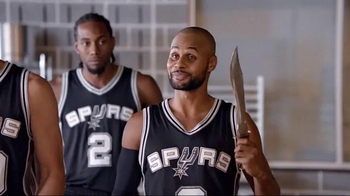 H-E-B TV Spot, 'Cooking Class' Featuring Tony Parker, LaMarcus Aldridge - Thumbnail 5