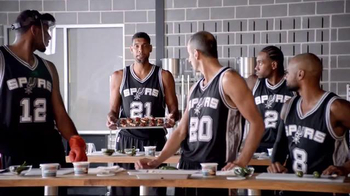 H-E-B TV Spot, 'Cooking Class' Featuring Tony Parker, LaMarcus Aldridge - Thumbnail 8