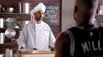 H-E-B TV Spot, 'Cooking Class' Featuring Tony Parker, LaMarcus Aldridge - Thumbnail 9
